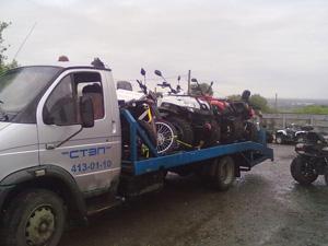 Эвакуация мотоциклов фото